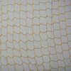 Polyester yellow color 30gsm ornamental netting/decorative net