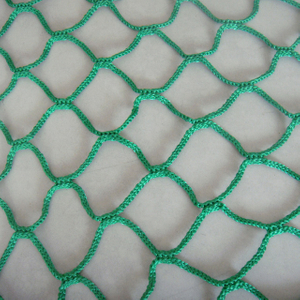 PP with UV 160gsm green color cargo net, container net,packing net