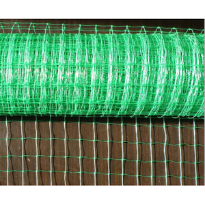 HDPE/PP 30gsm green color planting net/plant support net