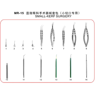 MR-15 SMALL-KERF SURGERY