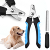 Professional Stainless Steel Pet Nail Clipper With Safeguard Dog Trimmer for Grooming Cat and Animal Claw Tool