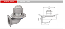 Bottom Valves-Emergency Valves-GET C804DPQ-100