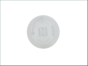 Mobile Payment 13.56MHz Printable Paper NFC Tag Ntag216 Sticker