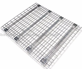 600x800 Metal Mesh Decking Galvanized Surface for Box Beam Pallet Racks