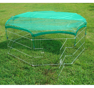 8 Panels Dog Garden wire fence