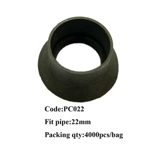 PVC Plastic cone for inner diameter 22mm and outer diameter 25mm pipe