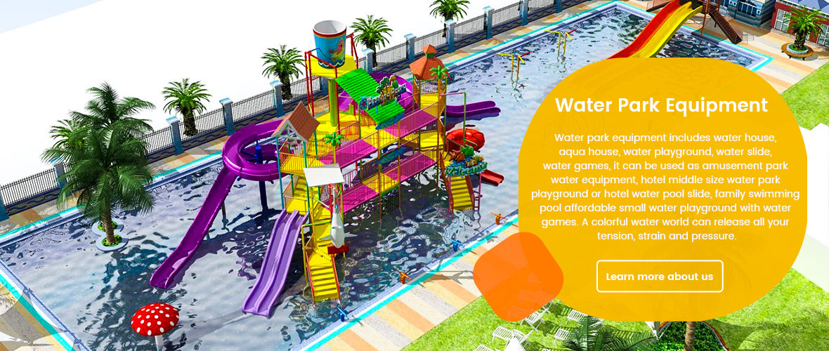 Outdoor water park playground equipment