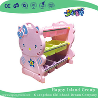Estantería de almacenaje de esquina Hello Kitty Cartoon Kindergarten (7102)