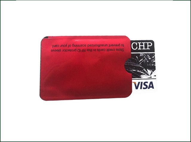Rfid Blocking Wallet Sleeves Credit Card Holder