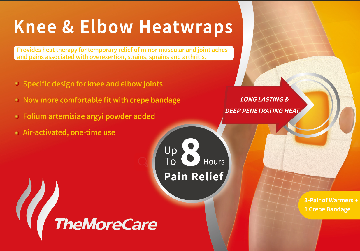 knee and elbow warm wrap