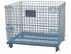 Mobile Wire Container without Castors