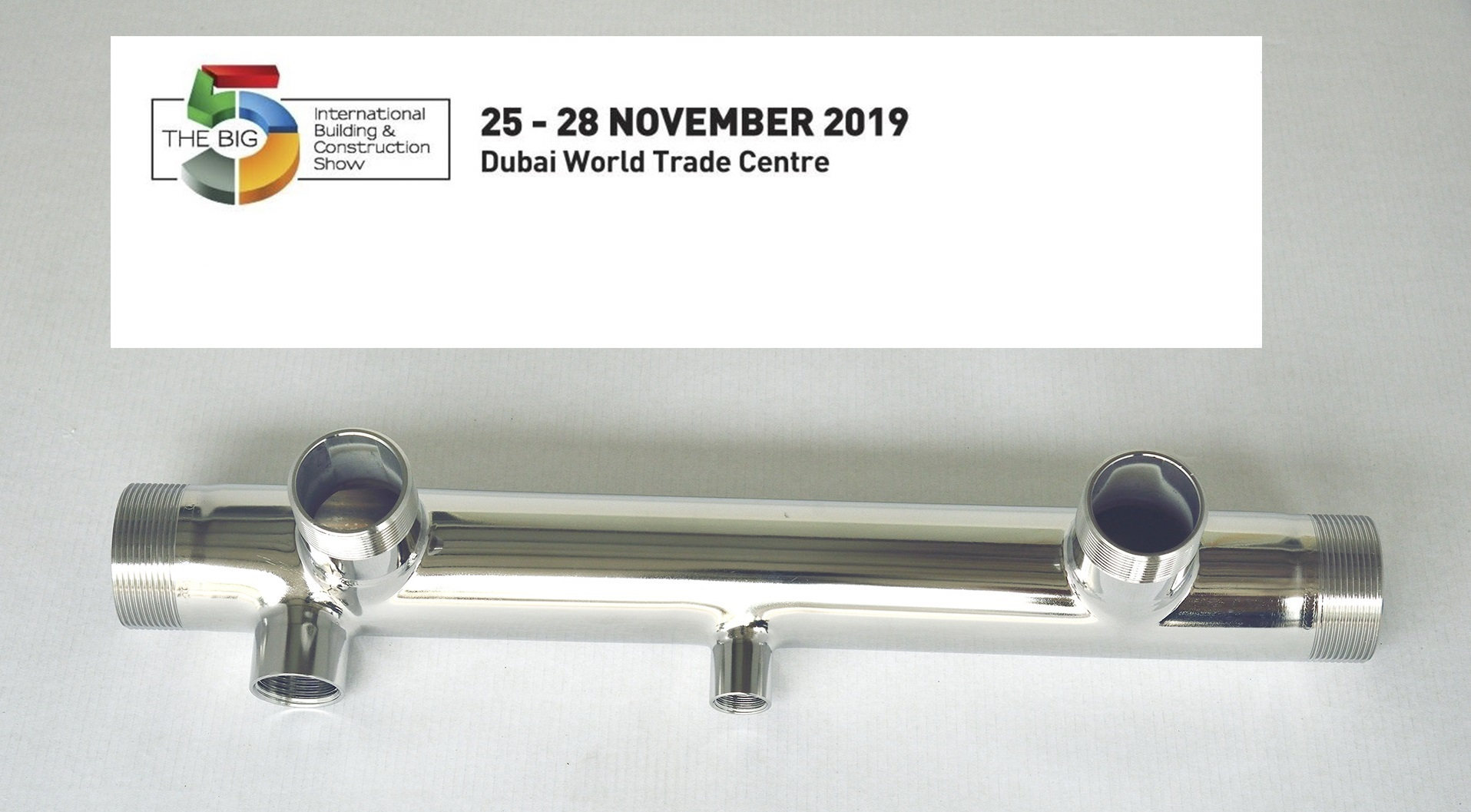 We are at The Big 5 Exhibition from November 25th to 28th.
