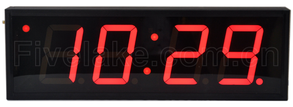4-Digit Indoor Clock + Timer