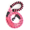 5FT Reflective Pet Climbing Rope Bungee Lead Durable Dog Training Walking Leashes Traction with Padded Handle