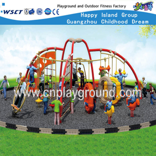 Kinder Outdoor Metall Komplex Spielplatz Set (HF-17901)