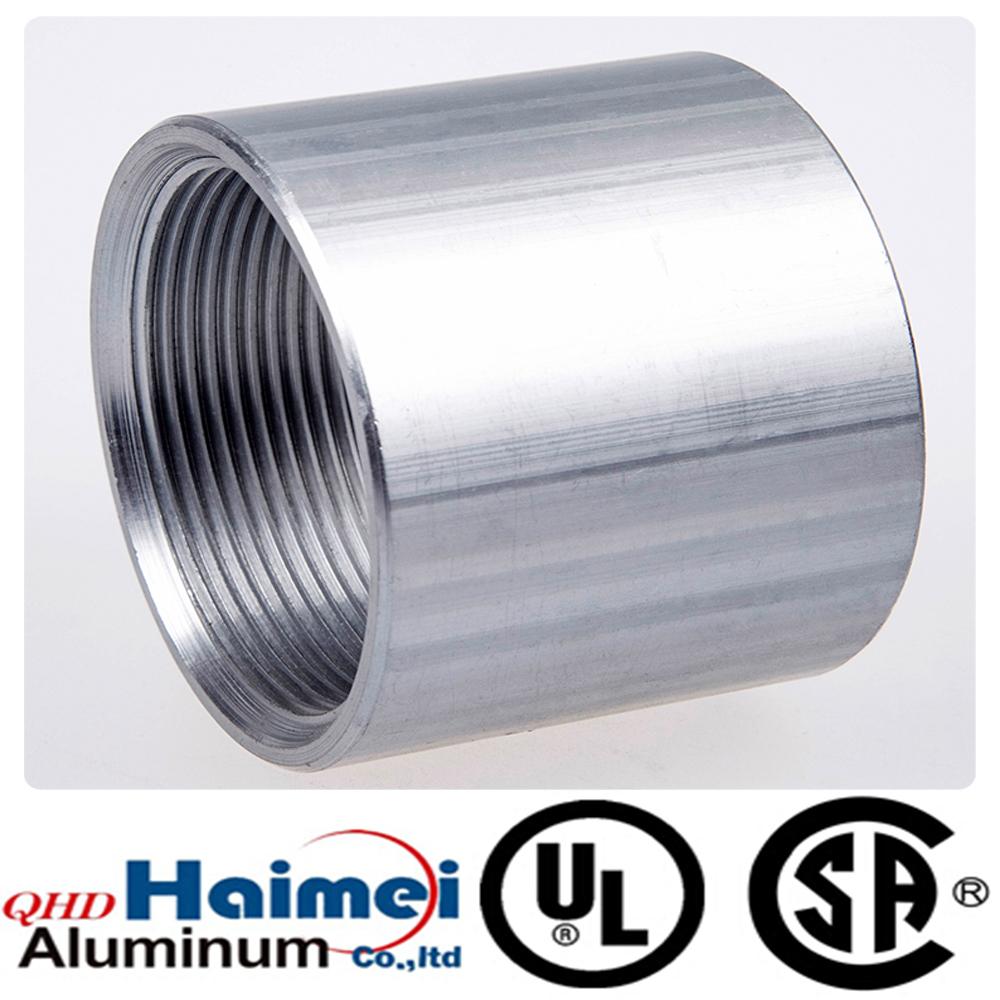 aluminum threaded pipe fittings of rigid coupling  sc 1 th 225 & Aluminum Pipes Aluminum Pipe Fittings Aluminum Electric conduits ...