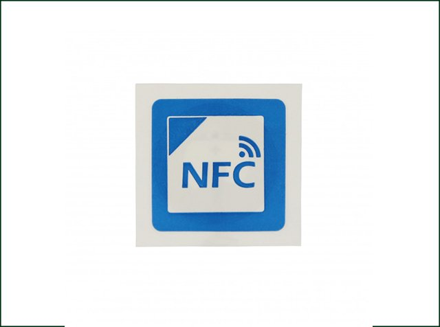 Customized Size Programmable 13.56 MHZ NFC Ntag213 RFID Sticker Tag
