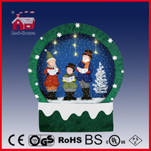 (40110F150-3C-GG) Snowing Christmas Decorations with Frame-supported and Textile-decorated