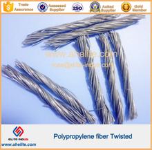 twist hybrid pp polypropylene Fiber macrofiber