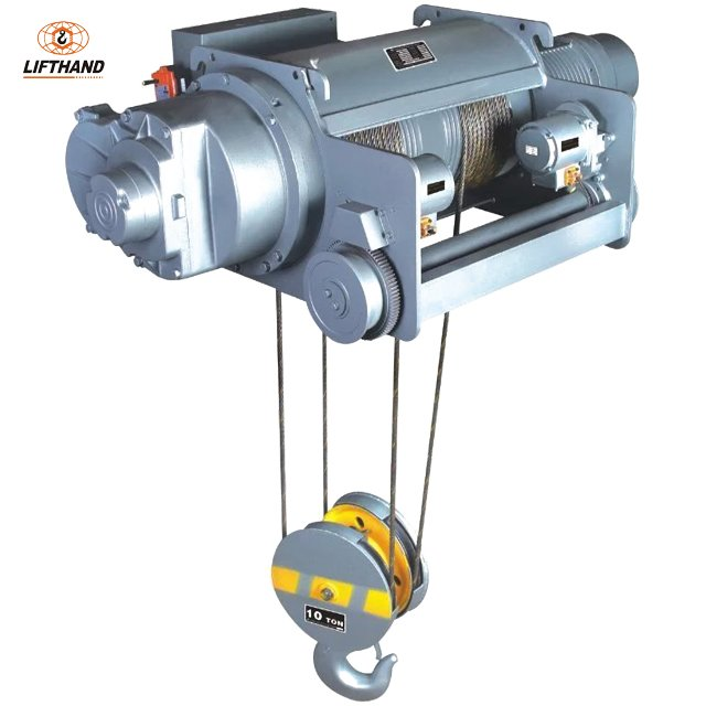 Offer New Double Rail Wire Rope Hoist---- Hoist Manufacturer LiftHand
