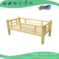 Effective Friendly Solid Wooden Toddler School Individual Bed (HG-6505)