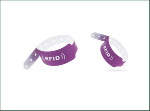 Disaposable Custom Tyvek Wrist Band Paper RFID Wristbands for Events