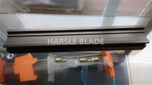 pneumatic knife holder guide rail ,slide track for fixing slitting knife holder.