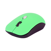 Private Wireless Mouse,Middle Size,Colorful Rubber Oil Painting.