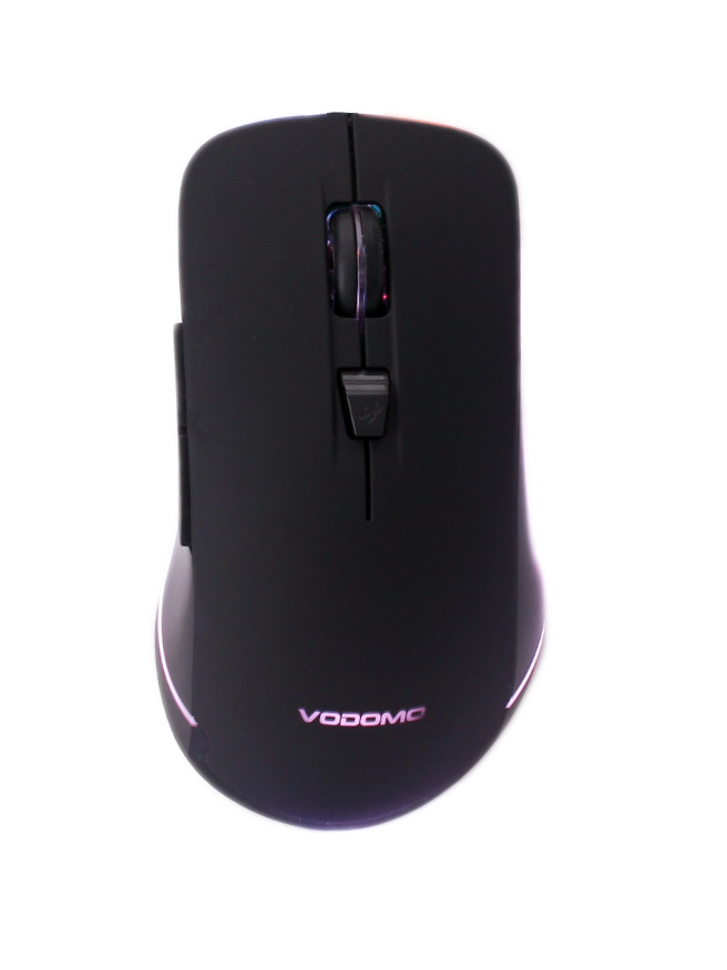 Computer Gaming Mouse, with Lighting Belt At The Bottom of The Housing Case