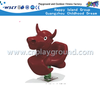M11-10909 Outdoor Plastic Playgrounds Rocking Ride Equipment