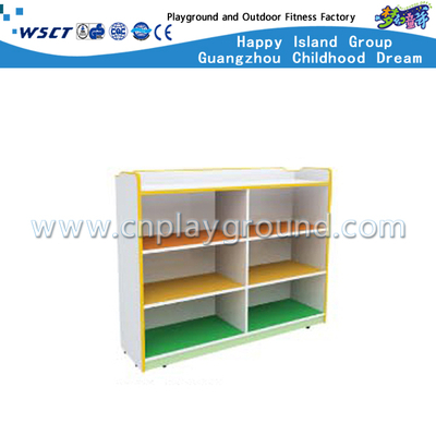 Helle Farbe Schule Mini Holz Kinder Spielzeug Schrank (M11-08906)