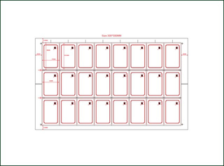 PVC Card Sheet Inlay for Manufacturing Use