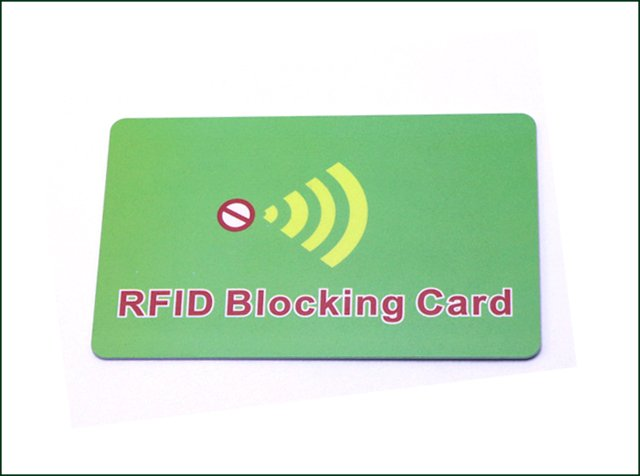 High Quality RFID Passive Blocking Card