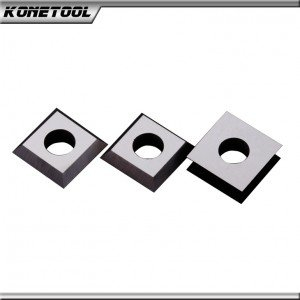 Standard Solid Carbide Straight Insert Knives - Countersink Hole