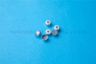 8mm Lined seal for glass cartridge
