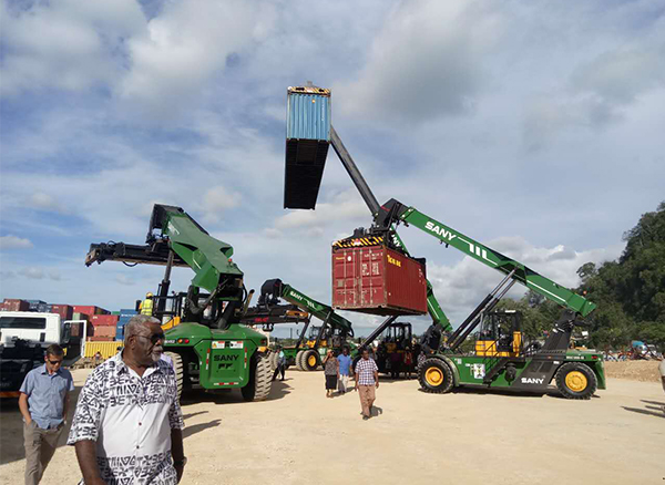 Sany Construction Machinery Made in China Exported Overseas