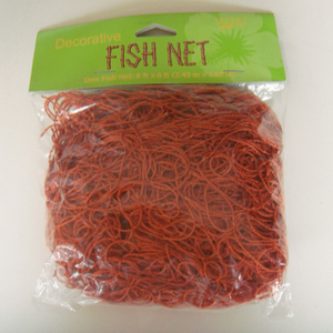 Polyester red color 30gsm ornamental netting/decorative net