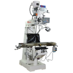 "Variable Speed Turret Milling Machine 1054TV 54""X10"""