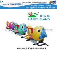 HD-10502 Cartoon Plane Design Kinder Elektro Mini Zug