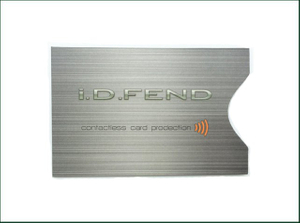 Rfid Blocking Credit Card Sleeve