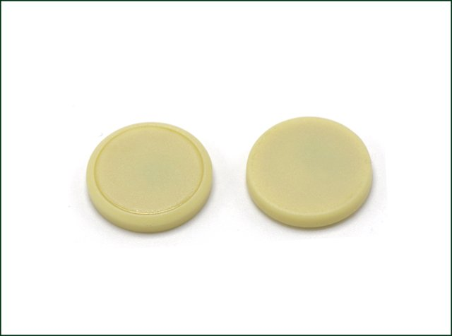 Optional Chip Passive RFID Coin Tag