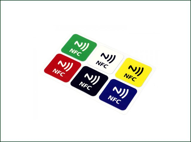 Printed NFC Anti-Tear Sticker Label for Anti-Counterfeiting