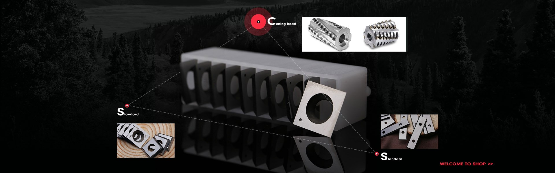 Carbide Inserts Knives From Konetool