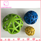 HOL-EE Bowler Pet Rubber Extreme Treat Ball Dog Toy