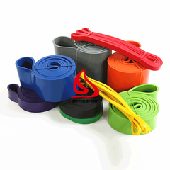 latex material flat resistance bands