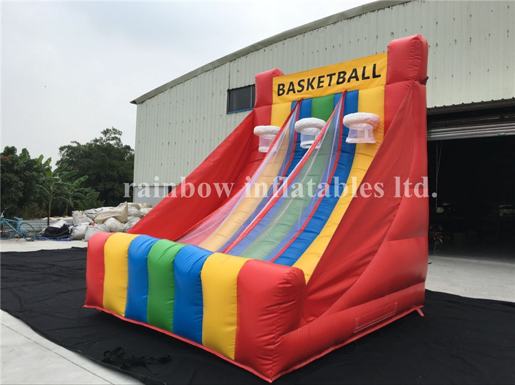 RB91007-1(3x3.5x4m) Inflatable Basketball Game/Indoor Basketball Shooting Sport Game For Fun