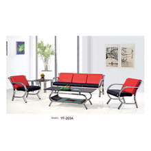 Combination sofa with metal legs for office YF-203A