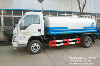 Foton 4x2 5000L water spray truck LHD / RHD