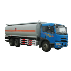 FAW Fuel Tanker Truck For Fuel Door To Door Express Dispensing