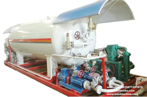 LPG skid mounted station Mobile Filling Station for LPG with 12000Liters